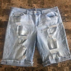 New York and company jean shorts